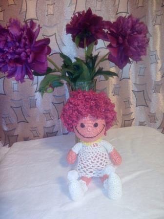Игрушки вязанные крючком фото: Ангел-вдохновитель - любитель цветочков